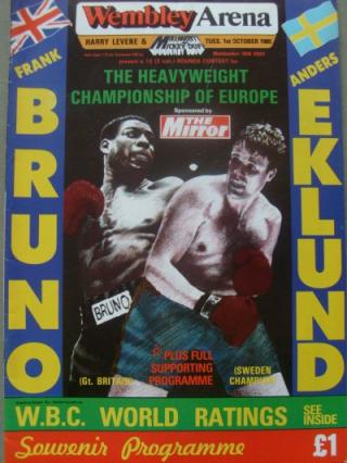 Anders Eklund vs Frank Bruno