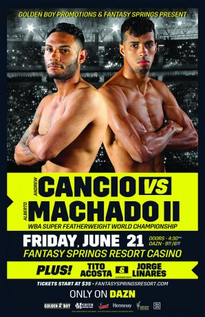 Andrew Cancio vs Alberto Machado II