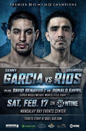 David Benavidez vs Ronald Gavril II