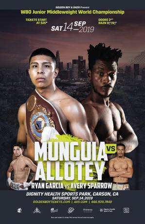 Jaime Munguia vs Patrick Allotey
