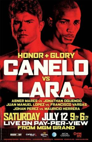 Honor & Glory: Saul Alvarez vs. Erislandy Lara