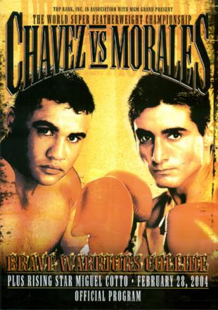 Brave Warriors Collide: Jesus Chavez vs. Erik Morales