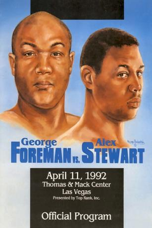 George Foreman vs. Alex Stewart