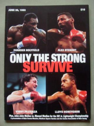 Only The Strong Survive: Evander Holyfield vs. Alex Stewart II