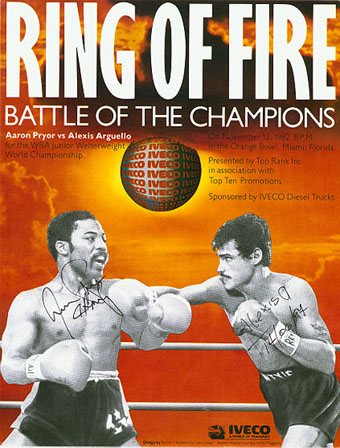 Ring Of Fire: Aaron Pryor vs. Alexis Arguello I