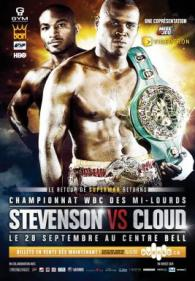 Adonis Stevenson vs. Tavoris Cloud Poster