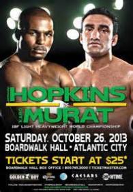 Bernard Hopkins vs. Karo Murat Poster