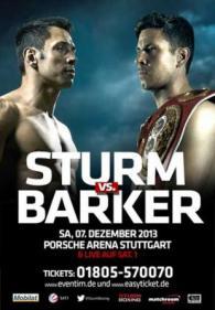 Darren Barker vs. Felix Sturm Poster