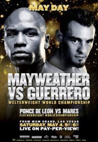 Floyd Mayweather Jr. vs. Robert Guerrero Poster