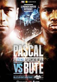 Lucian Bute vs. Jean Pascal Poster