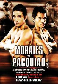 Coming With Everything: Erik Morales vs. Manny Pacquiao I Poster