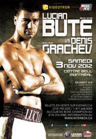 Lucian Bute vs. Denis Grachev Poster