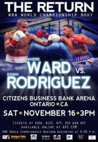 Andre Ward vs. Edwin Rodriquez Poster