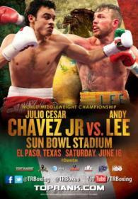 Julio Cesar Chavez Jr. vs. Andy Lee Poster