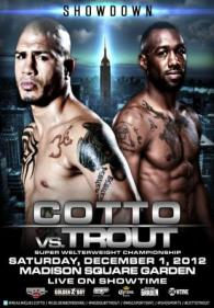 Showdown: Miguel Cotto vs. Austin Trout Poster