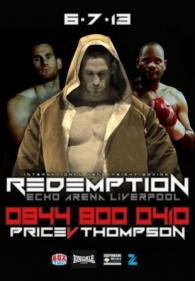 Redemption: David Price vs. Tony Thompson II Poster