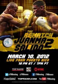 Orlando Salido vs. Juan Manuel Lopez II Poster