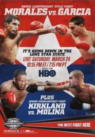 Erik Morales vs. Danny Garcia Poster