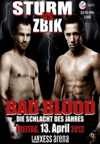 Bad Blood: Felix Sturm vs. Sebastian Zbik Poster