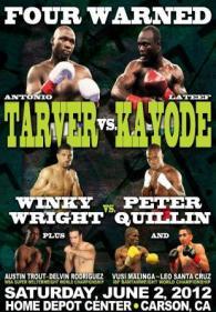 Four Warned: Antonio Tarver vs. Lateef Kayode Poster