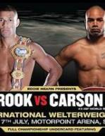 Edge of Glory: Kell Brook vs. Carson Jones Poster