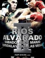 Brandon Rios vs. Mike Alvarado II Poster