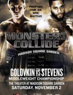 Gennady Golovkin vs. Curtis Stevens Poster