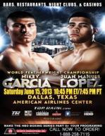 Mikey Garcia vs. Juan Manuel Lopez Poster