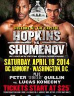 Bernard Hopkins vs. Beibut Shumenov
