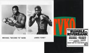 Michael Nunn Vs James Toney Fan Scorecards Eye On The Ring