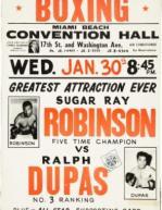 Sugar Ray Robinson vs Ralph Dupas