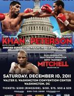 Capital Showdown: Amir Khan vs. Lamont Peterson poster