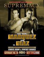 Supremacy: Juan Manuel Marquez vs. Juan Diaz I Poster