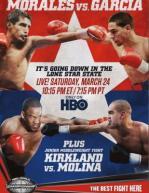 James Kirkland vs. Carlos Molina Poster